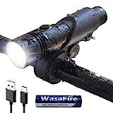 LED Fahrradlicht USB Wiederaufladbare T6 LED Taschenlampe wasserdicht 1000 Lumen Fahrradlampe Set...