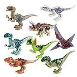 ROSENICE Welt Dinosaurier Kunststoff Dinosaurier Spielzeug Kindergeburtstag Party Dekoration, 8ST by...