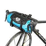 TOFERN Fahrradtasche Wasserabweisend Faltbar Lenkertasche Mit Klickverschluss Umhängetasche,...
