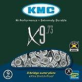 KMC Fahrradkette X 9-73, silver/grey