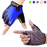 Fahrradhandschuhe Radsporthandschuhe rutschfeste und stoßdämpfende Mountainbike Handschuhe mit...