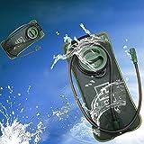 JTENG trinkblase Trinkbeutel 2 Liter Wasser Blasen Beutel, Wasserbehälter für Trinkrucksack Wasserbeutel mit Große Öffnung Ideal für wie Radfahren, Wandern, Laufen, Camping