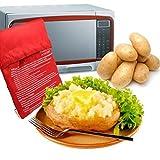 Kartoffel Mikrowelle beutel Mikrowellenherd Kochtasche Kartoffel Tortillas Maiskolben Express Backen...