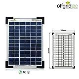 Offgridtec 5 W Solarmodul POLY 12 V, Solarpanel Solarzelle, 3-01-001555