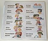 12 Tätigkeiten Belohnungstafel aeioubaby (Deutsch)