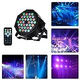 LED PAR,36W 36LEDs RGB 7 Beleuchtung Modi Disco Lichteffekte dj party Licht Bühnenbeleuchtung led...