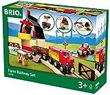BRIO World 33719 - Bahn Bauernhof Set