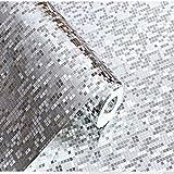 10 Meter 3D Retro Mosaik Dreidimensional PVC Fototapete Top Tapete Wandbilder Bild Tapeten Wand...