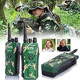 Bluelover 2St Intercom Electronic Walkie Talkie Toy Interphone Für Kinder Eltern-Kind Camouflage