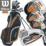 Wilson X31Herren Golf-Set New für 2017graphit-Schaft Eisen & Graphit-Schaft Woods frei...