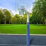 Sport-Thieme Basketballanlage 'Fair Play Silent', Korb 'Outdoor' abklappbar, 180x105 cm