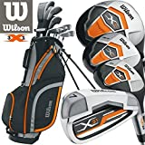 Wilson herren X31 golf set + 1INCH länger neu für 2017 Stahl mit Schaft Eisen & Graphit mit Schaft...