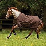 Horseware Amigo Bravo 12 - Winterdecke oder Regendecke 145cm ohne Füllung Chocolate/Choc&Cream