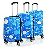 Reisekoffer QTC MIX Hartschalen Koffer Trolley Case M L XL oder Set