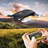 SGILE Faltbare RC Selfie Drone mit Wifi FPV 0.3MP Kamera, Ferngesteuert Quadrocopter, Hexacopter mit...