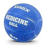 Schwerer Gummimedizinball mit Ventil, 8 kg