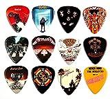 12 x berühmtes Album Covers Gitarren Picks Plektren