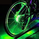 Wasserdichte LED Bike Wheel Lights, Bodecin Cool Colorful Bike Warning Light, 3 Modi Radfahren Bike...