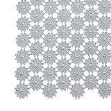 Raebel Deckchen Tischläufer Mittedecke Spitze, verschiedene Größen, grau, Größe...