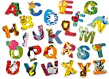 INDIGOS UG - Holzbuchstabe - O - für Kinder und Babys - Motiv Tiere für das Kinderzimmer, Schule,...