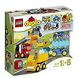 Lego 10816 Duplo Meine ersten Fahrzeuge, Spielzeug für zwei Jährige