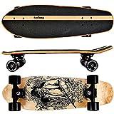 FunTomia Cruiser Midi-Board / Skateboard 65cm aus 7-lagigem kanadischem Ahornholz / oder 5-lagen...