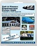 Zelt & Planenreparaturset Reparaturset Zelt Vorzelt Planen PVC Pool Schlauchboot Camping Kleber
