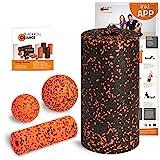 Blackroll Orange (Das Original) Starter Set mit der Faszienrolle Standard, alles für den...