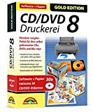 CD/DVD Druckerei 8 mit Papier