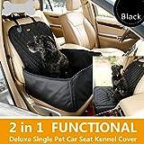 Lemonda 2 in 1 Hundetransportbox Autositzbezug Autoschutzdecke Hängematte Autositz für Haustier...