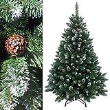 RS Trade 210 cm ca. 1400 Spitzen, Exklusiver dekorierter künstlicher Weihnachtsbaum mit...