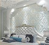 H&M Tapete dicker Damastart 3D Relief Vlies Dekoration Wohnzimmer Restaurant TV Wand Schlafzimmer...
