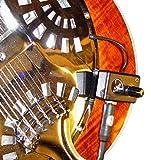 TRICONE SQUARE NECK Resonatorgitarre PICKUP mit flexiblen MICRO- Schwanenhals von Myers Pickups ~ In...