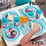 Frozen Kindergeschirrset (16 Teile)
