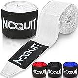 NOQUIT Premium Boxbandagen - 4m Länge - halbelastisch - mit luftdurchlässigem Wasch - &...