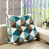 Vercart Wedge Pillow Bed Wedge Pillow Sofa Rückenlehne Kopfkissen,Keilkissen, Rückenkissen, Fernsehkissen, Ergokissen Weich und Bequem aus Softer Microfaser,Waschbar