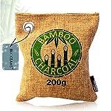 Lufterfrischer, Nachhaltiger Bambus Aktivkohle Luftreiniger, Luftentfeuchter mit natürlicher...