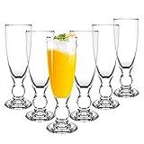 Almagic Wine Glass Set of 6, Fashion Drinkware Gift for Birthday, Anniversaries