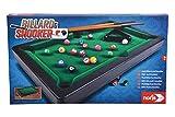 Noris 606167704 Billiard & Snooker-Aktionsspiel für die ganze Familie-Spielzeug Pool Billard &...