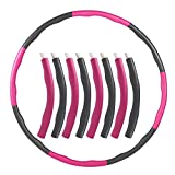 aoory Hula Hoop Serie Zur Gewichtsreduktion Reifen Mit Schaumstoff etwa 1000g Gewichten Beschwerter...