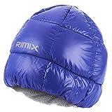 SaniMomo Im Freien Wasserdicht Winddicht Thermal Fleece Down Cap Hut Männer Frauen - Blau