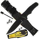 BKL1 Outdoormesser Zwille Steinschleuder Survival Messer 2042
