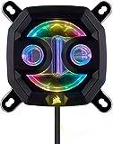 Corsair Hydro X Series XC7 RGB CPU-Wasserkühler (für Intel 115X/AMD AM4 Sockel, Kompromisslose...