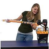 HYYKJ Tennisball Sammelrohr, Tischtennis Ballsammler Picker Up 85Cm Lange Ping Pong Ball Picking...