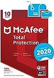 McAfee Total Protection 2020 | 10 Geräte | 1 Jahr | PC/Mac/Smartphone/Tablet | Aktivierungscode per...