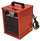 Elektrische Heizung mit Leistung 5000W rote Farbe