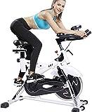Nologo YO-TOKU Queiting Spinning Indoor Heimtrainer Sport Training Fitness Cardio Bike für Zuhause...