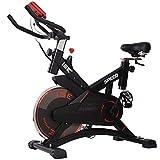 ISE Profi Indoor Cycle Ergometer Heimtrainer mit Pulsmesser,LCD...