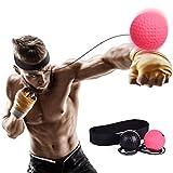 ZYY Boxing Ball,punchingball, Reaktionstrainingsbälle Mit Stirnband Für Geschwindigkeitstraining...