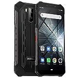 Ulefone Armor X3 Outdoor Handy 32GB Speicher, 5,5 Zoll, 5000mAh Akku, Android 9.0, IP68 Smartphone...